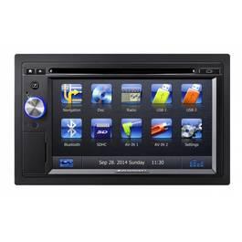 Unitate Multimedia auto 2 DIN Blaupunkt - TOR-New York 845