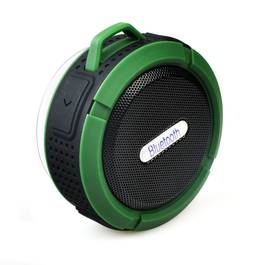 Car kit bluetooth, boxa portabila waterproof Verde