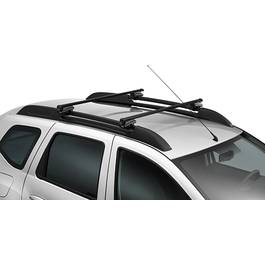Set Bare Portbagaj Otel + Cheie Peugeot 4007 -7 La model cu bare longitudinale de fabrica