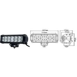 Proiector LED, 36W COMBO, 12/24V