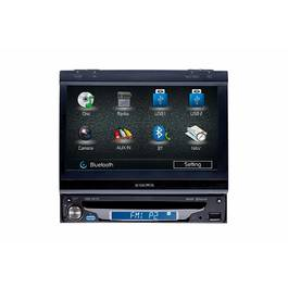 DVD Player Auto 1 DIN cu Display Touchscreen de 7 inch Rabatabil Audiovox - BLO-VME-9415