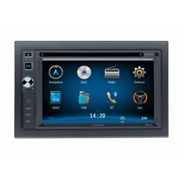 DVD Player Auto 2 DIN cu USB, Card SD, Navigatie si Bluetooth Audiovox - BLO-VME-9125NAV