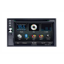 DVD Player Auto 2 DIN cu USB, Card SD, Navigatie si Bluetooth Audiovox - BLO-VME-9725 NAV