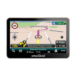 Sistem Navigatie GPS Auto Smailo HD 5.0 Fara Harta