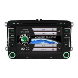 Sistem Navigatie Audio Video cu DVD Skoda Fabia 2007-2012 + Cadou Card GPS 8Gb