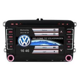 Sistem Navigatie Audio Video cu DVD Volkswagen VW Passat B6 2005-2010 + Cadou Card GPS 8Gb