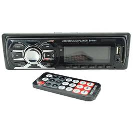 Radio MP3 Player Auto 1 DIN cu USB, Card SD/MMC, AUX si Telecomanda, CDX-6614