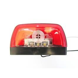 Lampa LED 12V pentru Iluminare Numar Inmatriculare cu Pozitie Rosie, Universala