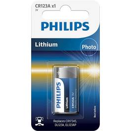 Baterie Cr123a Philips Lithium Minicells, Blister 1 Baterie, 558213 - PHI-558213