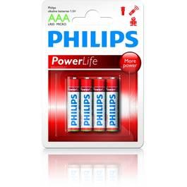 Baterii Alkaline Power Life Tip R03/Aaa Blister 4 Buc - PHI-549824