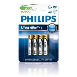 Baterii Ultra Alkaline Tip R03/Aaa Blister 4 Buc - PHI-550363