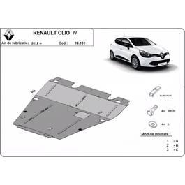 Scut motor metalic, Renault Clio 4 fabricat dupa 2012