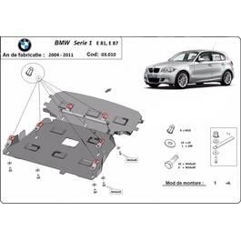 Scut motor metalic BMW Seria 1 - E81 , E87   2004 - 2011