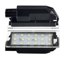Lampa LED pentru iluminare numar inmatriculare compatibil Renault Twingo / Clio / Megane / Laguna / Velsatis / Master AutoPro Style