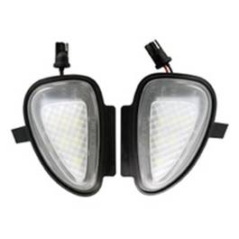 Lampa LED semnalizator oglinda exterioara compatibil VW GOLF 6 Cabrio 2011.06~ si Jetta 6 2011.01~ AutoPro Style