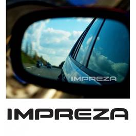 Stickere oglinda ETCHED GLASS - IMPREZA (set 3 buc.) Modern Tuning