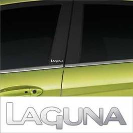Stickere stalpi usa CHROME - LAGUNA (set 2 buc.) Modern Tuning