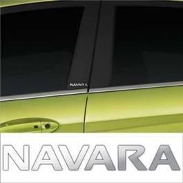 Stickere stalpi usa CHROME - NAVARA (set 2 buc.) Modern Tuning