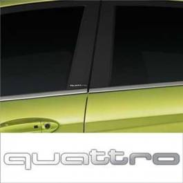 Stickere stalpi usa CHROME - QUATTRO (set 2 buc.) Modern Tuning