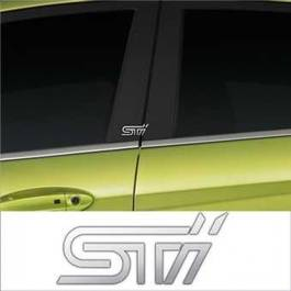 Stickere stalpi usa CHROME - STI (set 2 buc.) Modern Tuning