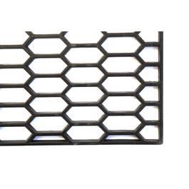 Plasa tuning fagure, din plastic 001 neagra 120.5 x 39.5 cm