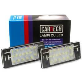 Lampi numar dedicate cu LED Opel Vectra C, Astra J, Insignia