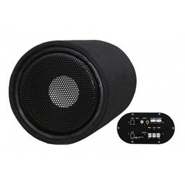 Subwoofer Bass Auto Activ cu Amplificator Incorporat 300W 16,5cm Voice Kraft