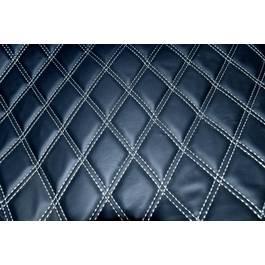 Material romb tapiterie negru / cusatura gri Cod:Y01NG TopCars
