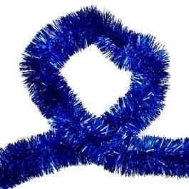 Beteala pentru Craciun, Lungime 10m, Culoare Albastru, Diametru 5cm