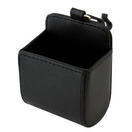 Organizator / buzunar auto pentru depozitarea diferitelor articole, culoare Negru, dimensiuni 9x5x11cm