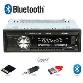 MP3 Player Auto 1DIN cu Radio FM, Bluetooth, Afisaj LCD Incorporat FM/MP3/USB/SD/AUX IN, Putere 4x45W, Vordon