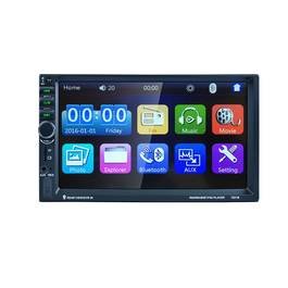MP3 Player Auto Universal 2DIN cu Radio FM, Bluetooth, Display 7 Inch, USB, MicroSD, AUX, Microfon Incorporat