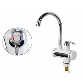 Robinet Electric Instant pentru Incalzit Apa cu Afisaj Temperatura, Putere 3KW, Pentru Bucatarie