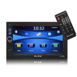 Navigatie Multimedia MP5 Player Auto 2DIN Blow, Bluetooth, Modul GPS, Display Color 7 Inch, Radio AM/FM, USB, Card SD, AUX, Telecomanda
