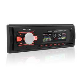 Radio MP3 Player Auto Blow cu USB, SD, MMC, AUX, Display LCD Color Mare