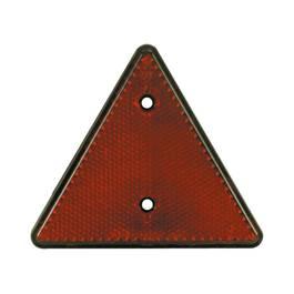 Catadioptru reflectorizant triunghi Carpoint fixare cu surub , 1 buc la blister