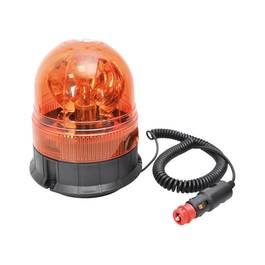 Girofar auto Automax 24V orange cu bec de H1 , fixare magnetica