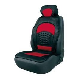 Husa scaun cu efect masaj Automax, culoare Rosie