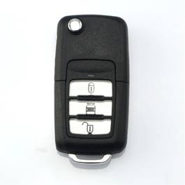 Carcasa cheie auto briceag cu 3 butoane CH-124, compatibil Chevrolet