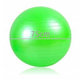 Minge Mare pentru Fitness, Recuperare sau Gimnastica, Diametru 75cm, Culoare Verde