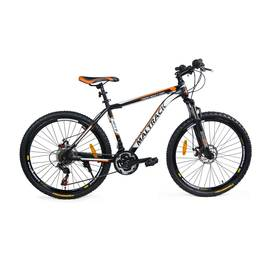 Bicicleta MTB MalTrack Team Orange cu 18 Viteze, Roti 26 Inch, Mountain Bike