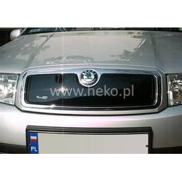 Masca radiator SKODA FABIA an fabr. 2000- (marca HEKO) AutoLux