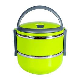 Caserola Termica Lunch Box pentru Mancare, Capacitate 1,4L, Mentine Mancarea Calda, culoare verde