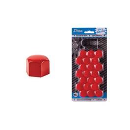 Set capacele ornament prezoane, 20+1 gratis,19 mm, culoare rosu