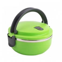 Caserola Termica Lunch Box pentru Mancare, Capacitate 700ml, Mentine Mancarea Calda, culoare verde