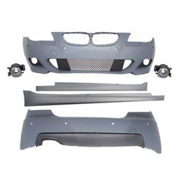 Kit Exterior BMW Seria 5 E60 (2003-2007) M-Technik Design cu PDC 24mm