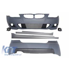 Kit Exterior BMW Seria 5 E60 (2003-2010) M-Technik Design fara PDC