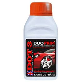Lichid de frana DuoPrim DOT3 230ml Kft Auto