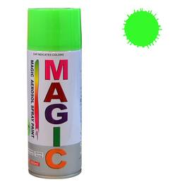 Spray vopsea MAGIC Verde Fluorescent , 400 ml. Kft Auto