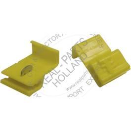 Cuplaj rapid cablu , conector electric 4.0-6.0 mm ? , culoare galben Kft Auto